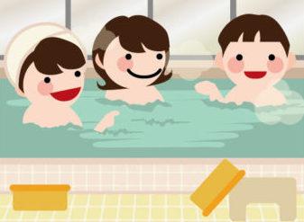 みんなで入浴